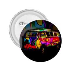 Hippie van  2.25  Buttons