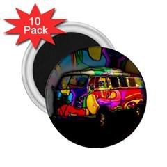 Hippie van  2.25  Magnets (10 pack)