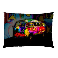 Hippie van  Pillow Case