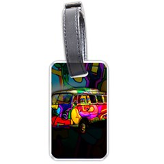 Hippie van  Luggage Tags (Two Sides)