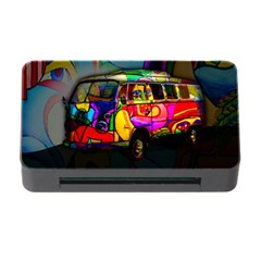 Hippie van  Memory Card Reader with CF