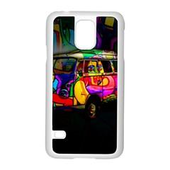 Hippie van  Samsung Galaxy S5 Case (White)