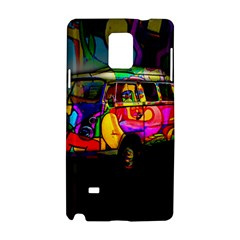 Hippie van  Samsung Galaxy Note 4 Hardshell Case