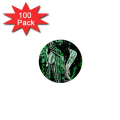Cyber angel 1  Mini Buttons (100 pack)