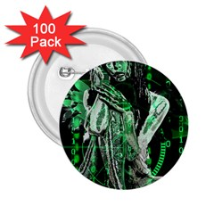 Cyber angel 2.25  Buttons (100 pack)