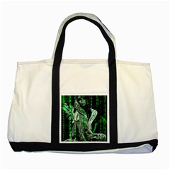 Cyber angel Two Tone Tote Bag