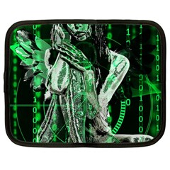 Cyber Angel Netbook Case (large)
