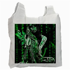 Cyber angel Recycle Bag (Two Side)
