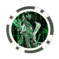 Cyber angel Poker Chip Card Guard (10 pack)