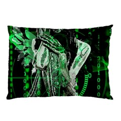 Cyber Angel Pillow Case (two Sides)