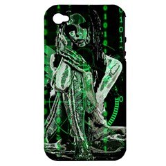 Cyber angel Apple iPhone 4/4S Hardshell Case (PC+Silicone)