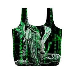 Cyber angel Full Print Recycle Bags (M)