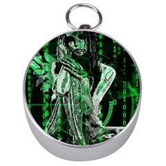Cyber angel Silver Compasses