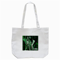 Cyber angel Tote Bag (White)