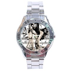 Vintage angel Stainless Steel Analogue Watch