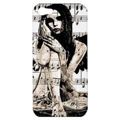 Vintage angel Apple iPhone 5 Hardshell Case