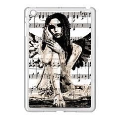 Vintage angel Apple iPad Mini Case (White)
