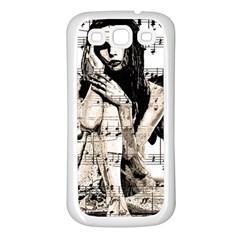 Vintage angel Samsung Galaxy S3 Back Case (White)
