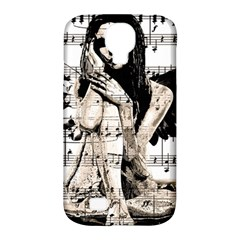Vintage angel Samsung Galaxy S4 Classic Hardshell Case (PC+Silicone)