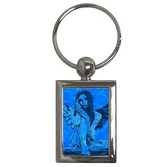 Underwater angel Key Chains (Rectangle)