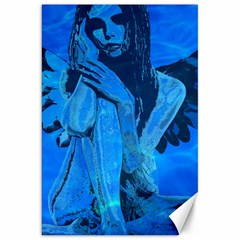 Underwater angel Canvas 20  x 30