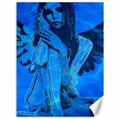 Underwater angel Canvas 36  x 48