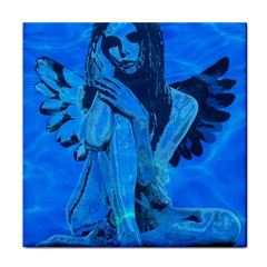 Underwater angel Face Towel