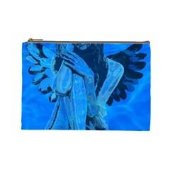 Underwater angel Cosmetic Bag (Large)