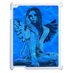 Underwater angel Apple iPad 2 Case (White)