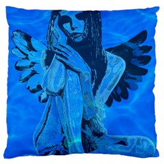 Underwater angel Large Flano Cushion Case (Two Sides)