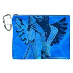 Underwater angel Canvas Cosmetic Bag (XXL)