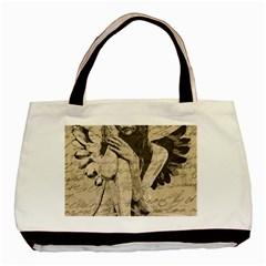 Vintage angel Basic Tote Bag (Two Sides)