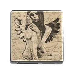 Vintage angel Memory Card Reader (Square)