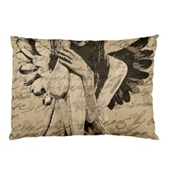 Vintage angel Pillow Case (Two Sides)