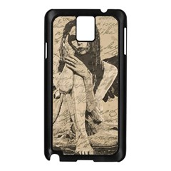 Vintage angel Samsung Galaxy Note 3 N9005 Case (Black)