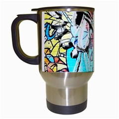 Graffiti angel Travel Mugs (White)