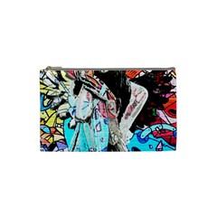 Graffiti angel Cosmetic Bag (Small)
