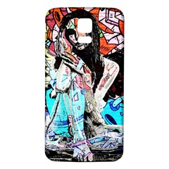Graffiti angel Samsung Galaxy S5 Back Case (White)