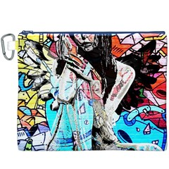 Graffiti angel Canvas Cosmetic Bag (XXXL)