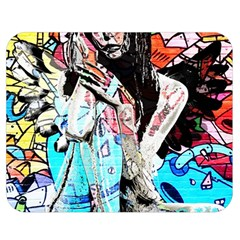 Graffiti angel Double Sided Flano Blanket (Medium)