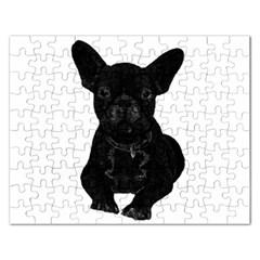Bulldog Rectangular Jigsaw Puzzl