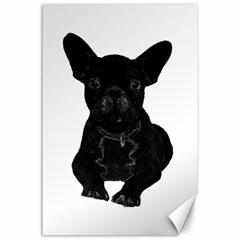 Bulldog Canvas 24  x 36
