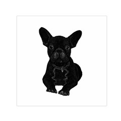 Bulldog Small Satin Scarf (Square)