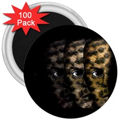 Wild child 3  Magnets (100 pack)