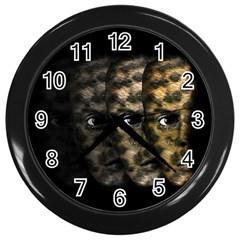 Wild child Wall Clocks (Black)