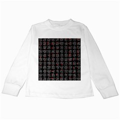 Chinese characters Kids Long Sleeve T-Shirts