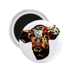 Artistic Cow 2.25  Magnets