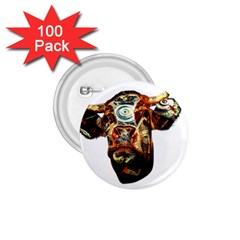 Artistic Cow 1.75  Buttons (100 pack)