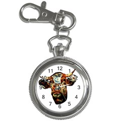 Artistic Cow Key Chain Watches