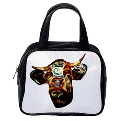 Artistic Cow Classic Handbags (One Side)